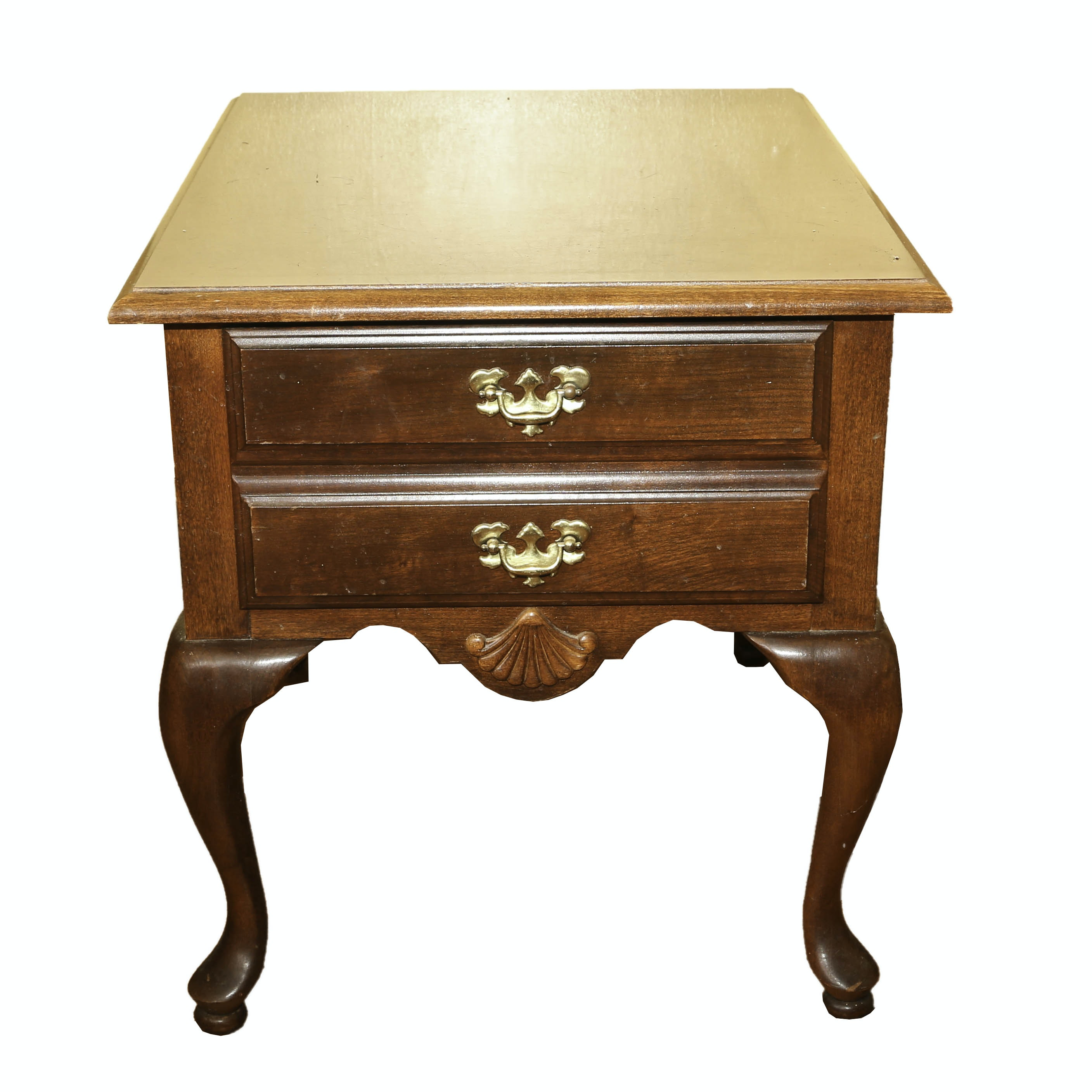 Queen Anne Style Side Table by American Drew