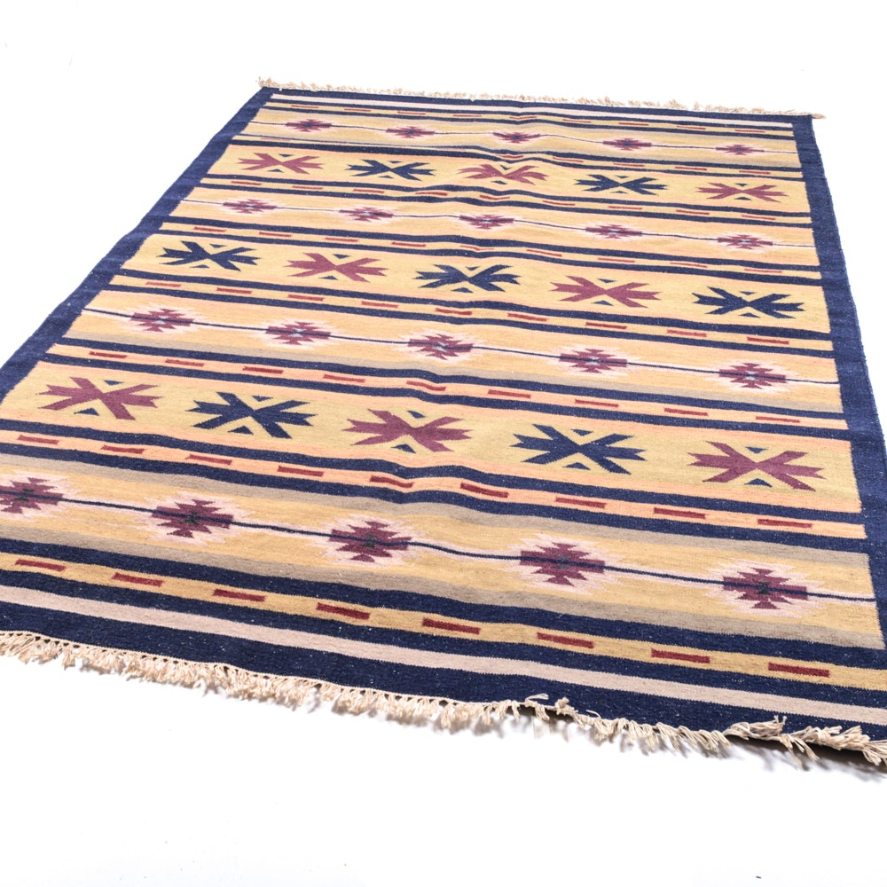 Hand Woven Turkish Soumak Area Rug