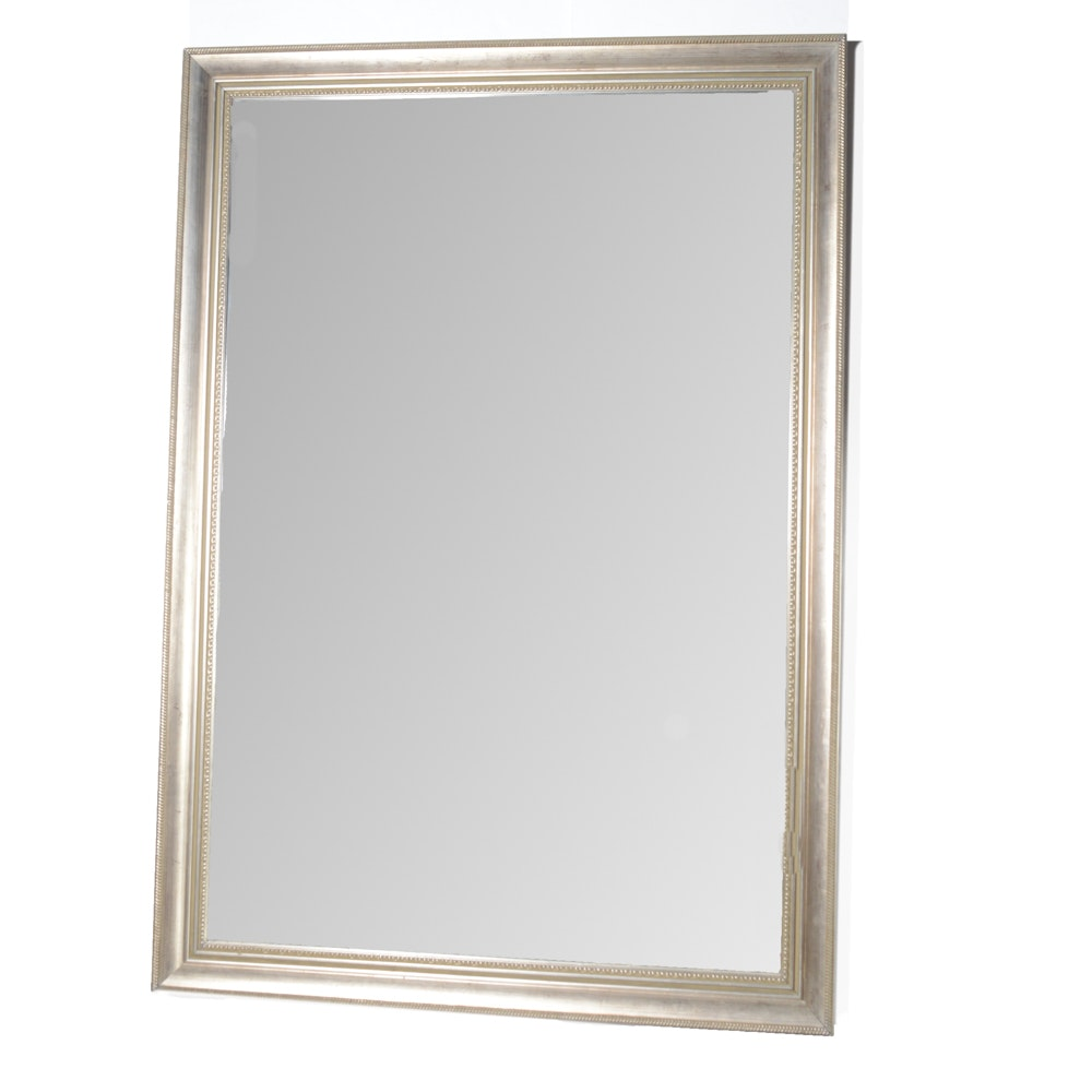 Large-Scale Mirror in Painted Wood Frame