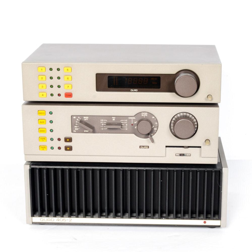 Quad Audio Sound System