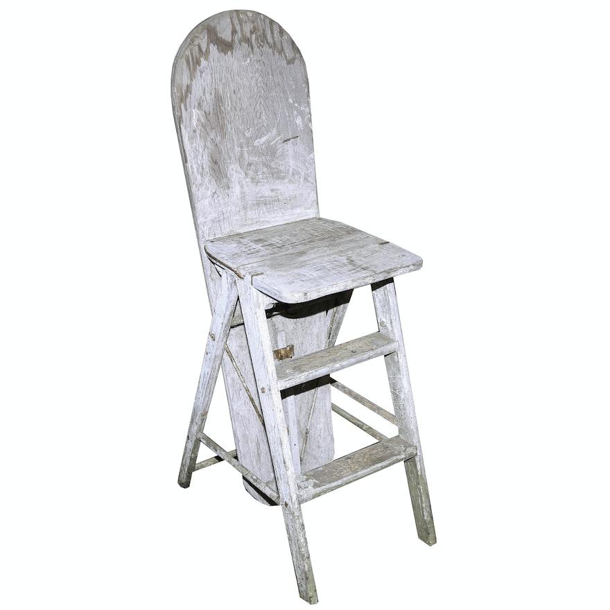 Antique Metamorphic Jefferson Bachelor Chair ... - Antique Metamorphic Jefferson Bachelor Chair : EBTH