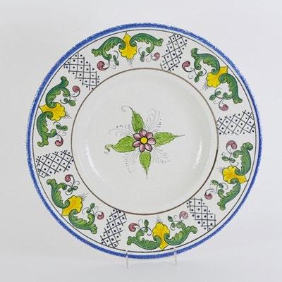 Large Chianti Italy Pottery Bowl
