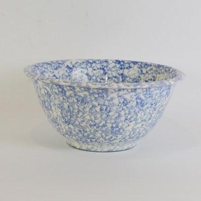 Italian Spongeware Bowl