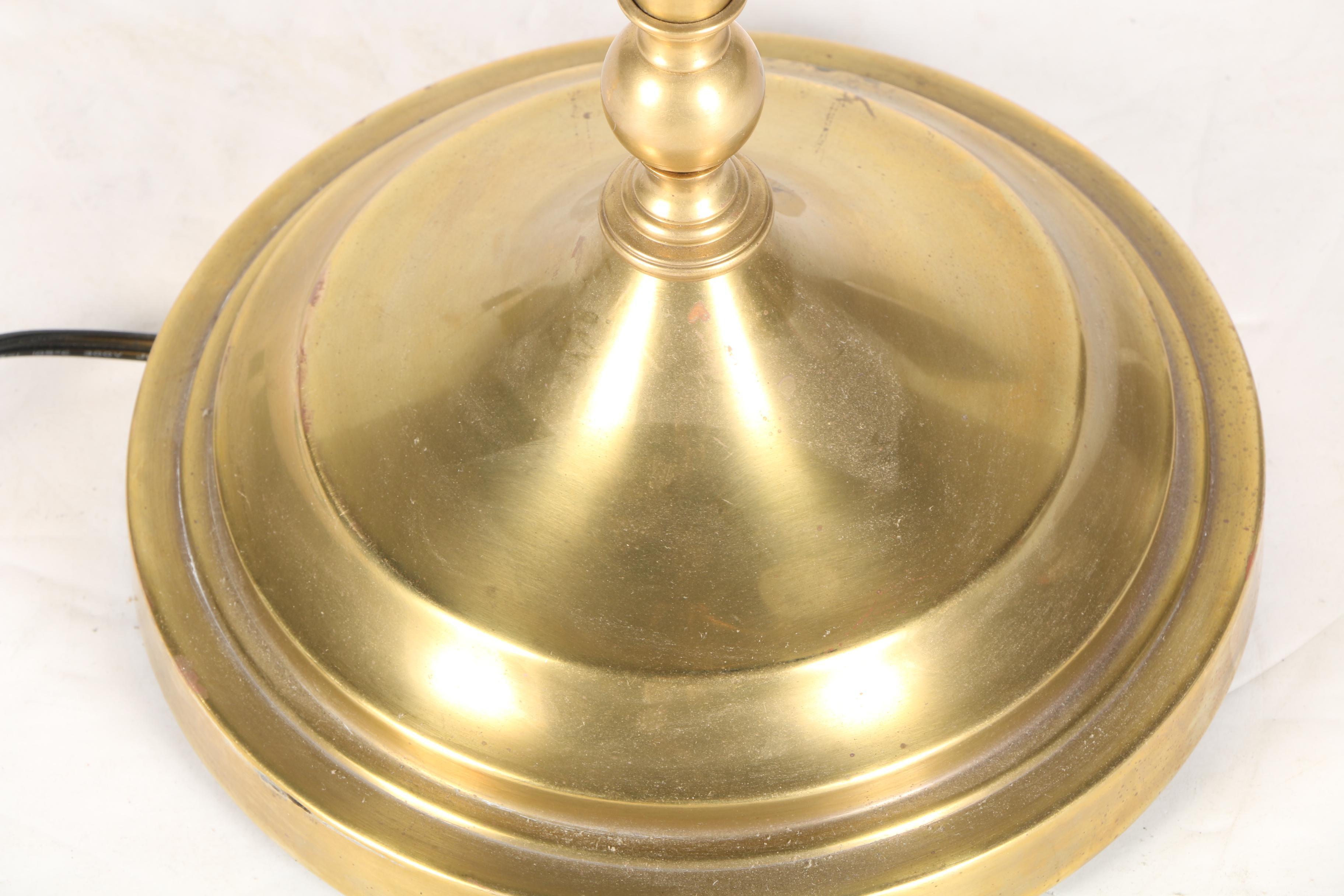 Robert Abbey Brass Torchiere Lamp Ebth