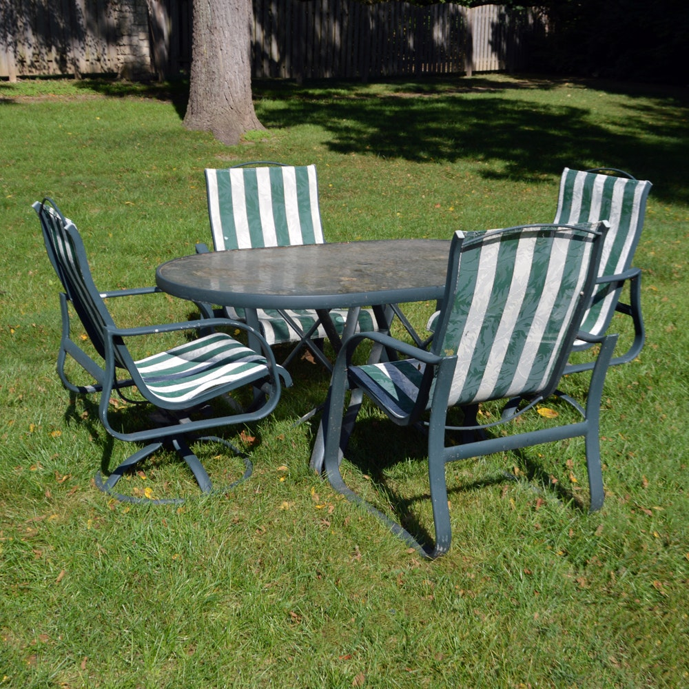 Five Piece Outdoor Patio Set