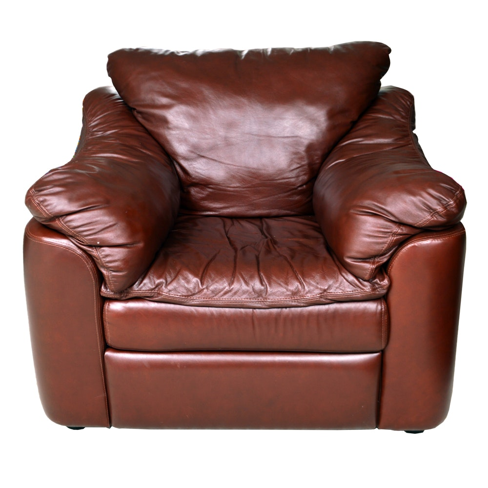 """""""Durango"""" Brown Bonded Leather Reclining Chair"""