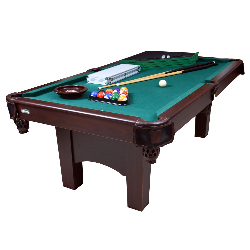 Mizerak Billiards Table And Poker Table Top ...