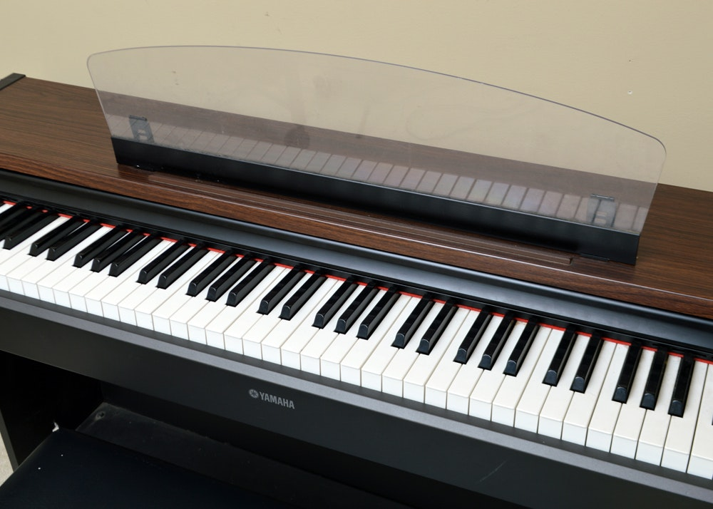 Yamaha digital piano and bench ebth for Best yamaha digital piano 2017