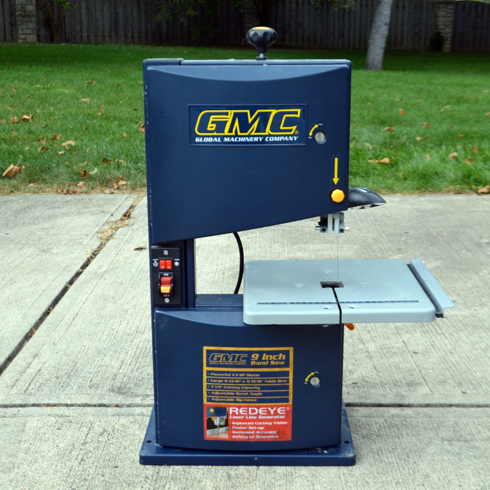 Global Machinery Company 9 Inch table top band saw