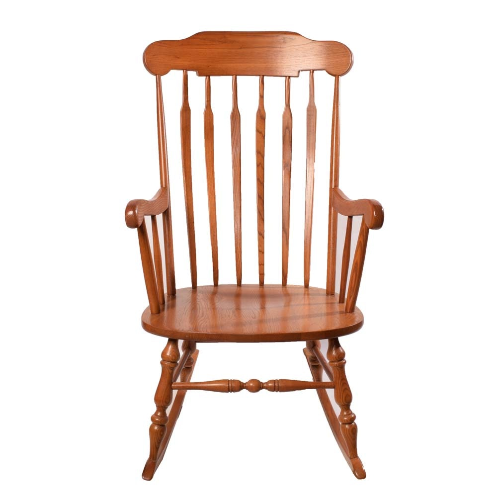 Windsor Style Rocking Chair By Virginia House ...