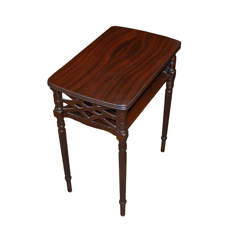 Mahogany Veneered Side Table