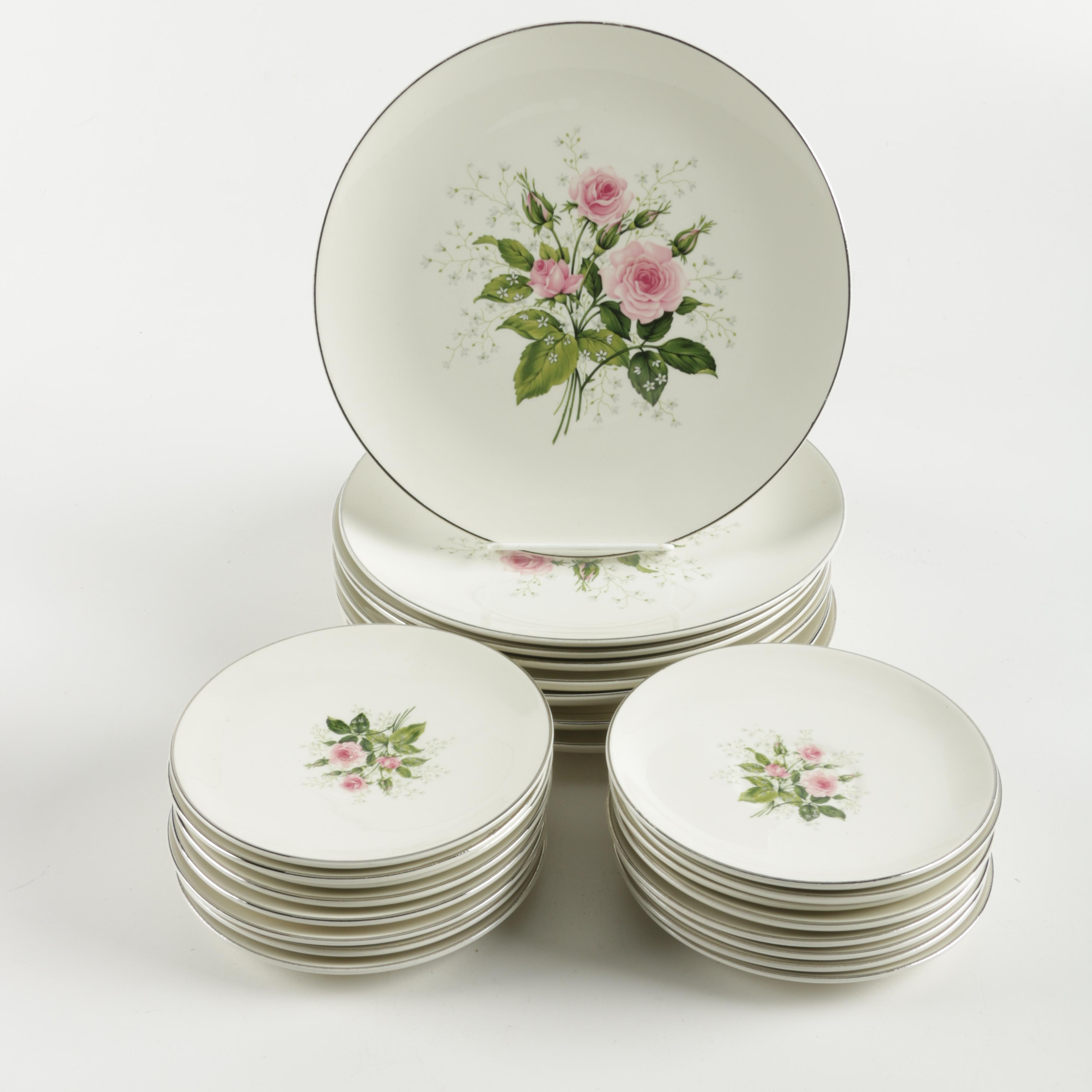 Royal China \ Queens Rose\  ... & Royal China \