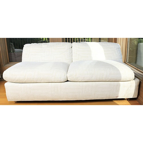 Contemporary Style Love Seat by Henredon