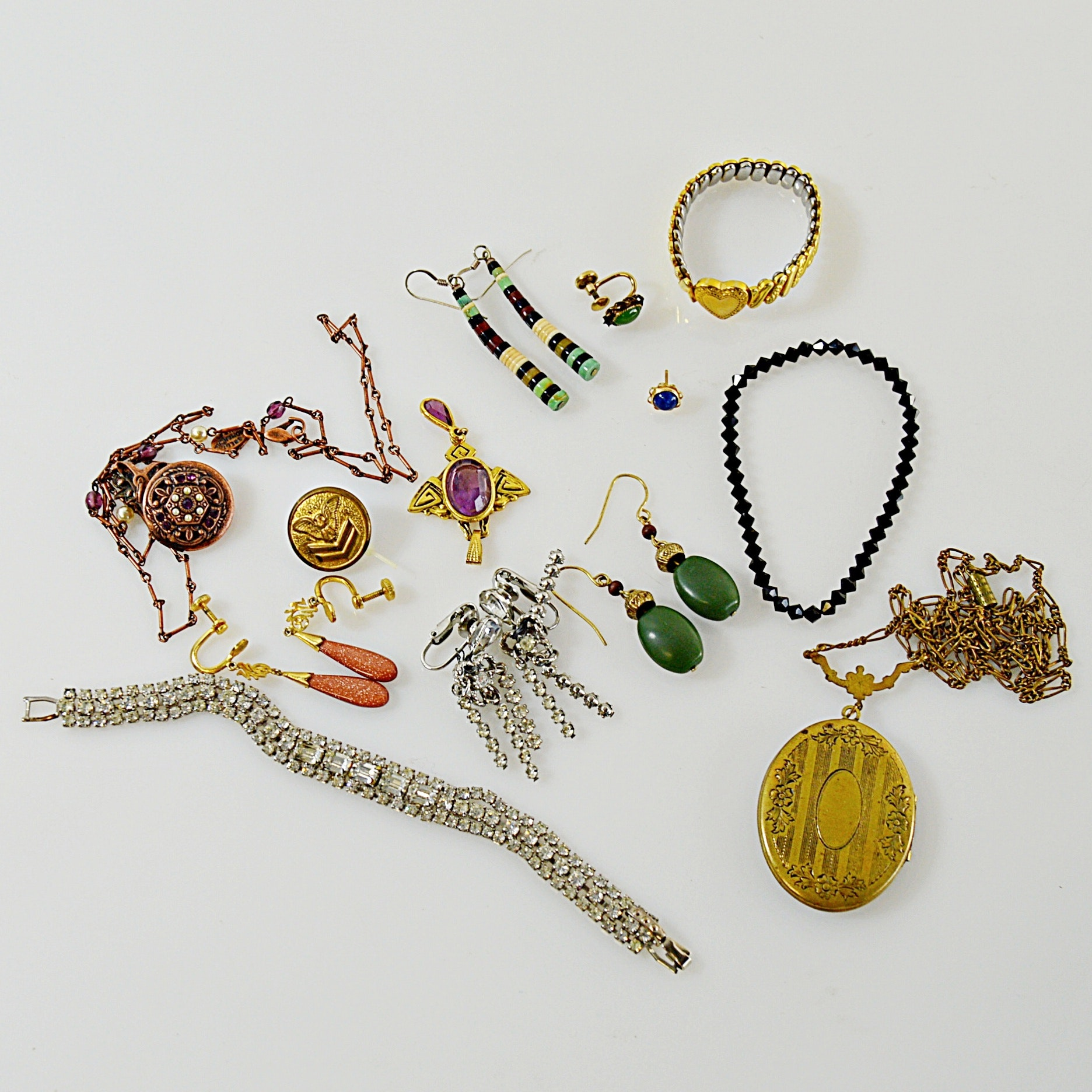 Vintage and Modern Jewelry