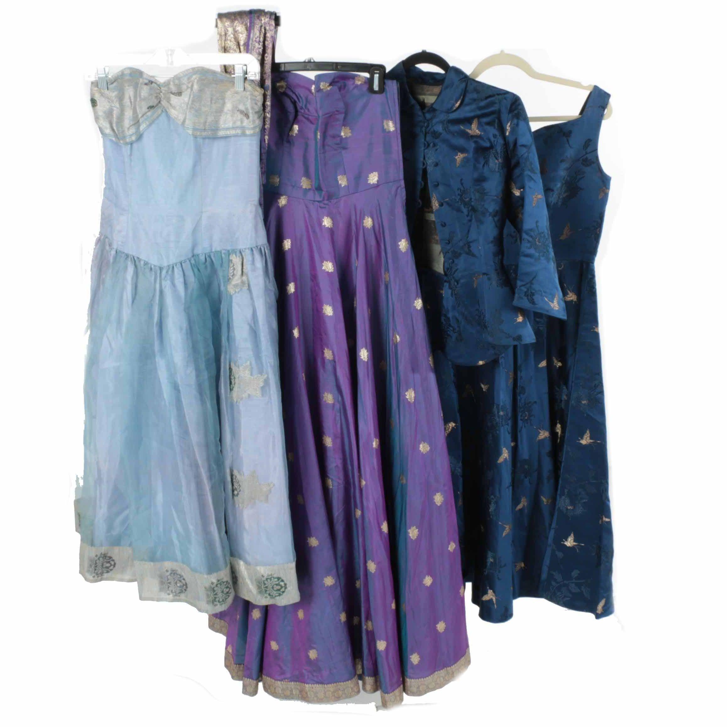 Women's Custom Silk Dresses