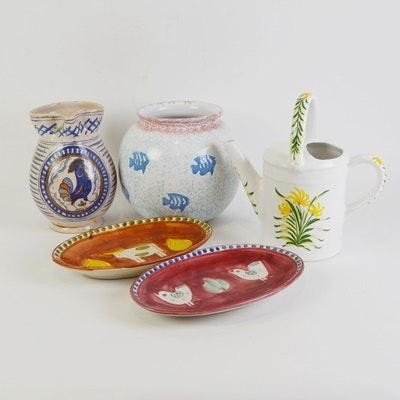 Art Pottery Kitchen and Decor Collection