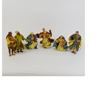 Clothtiques Nativity Figurines