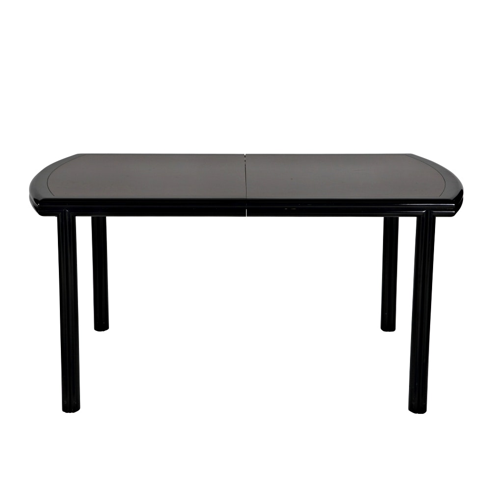 Contemporary Two Tone Dining Table