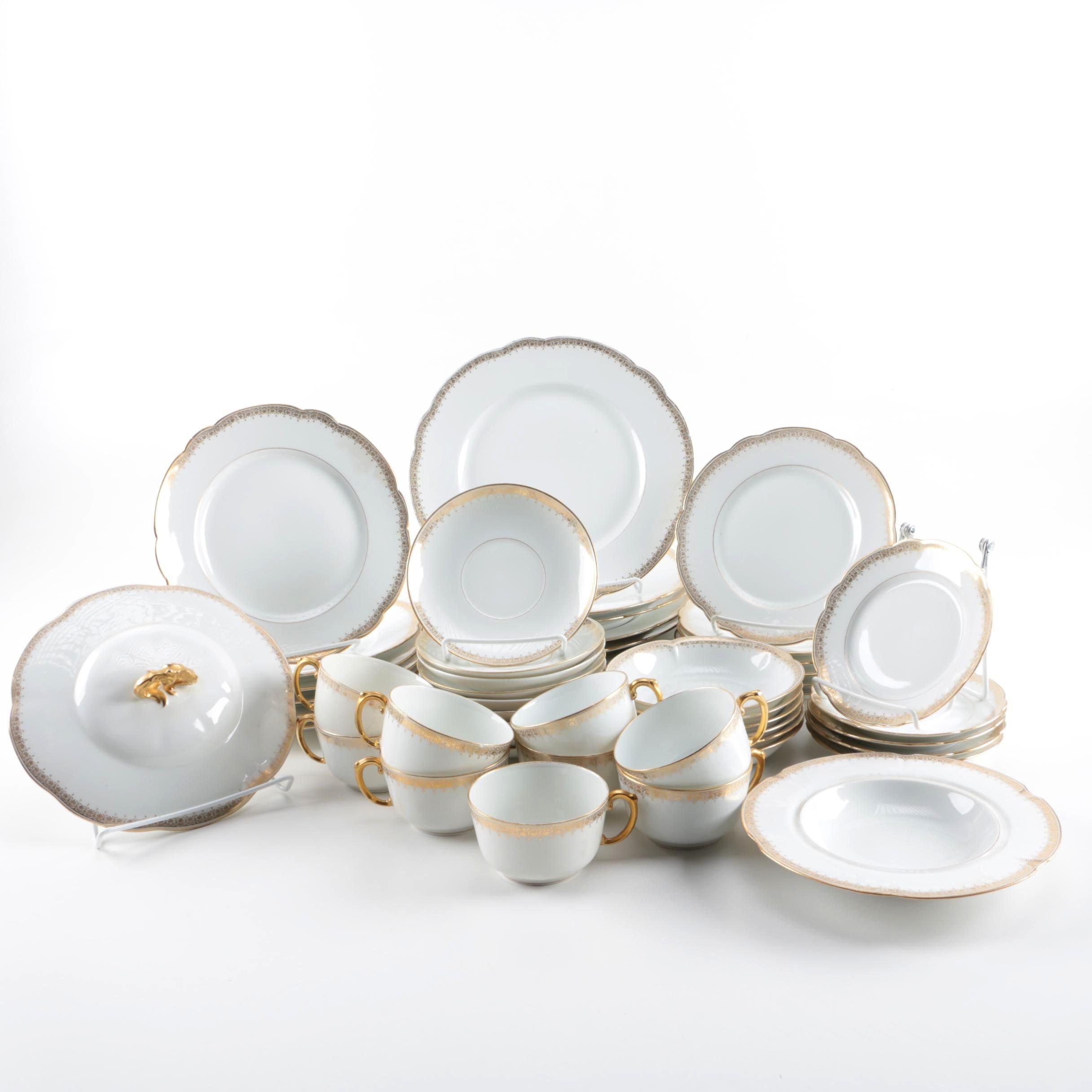 D \u0026 C France L. Bernardaud Limoges Porcelain Tableware ...  sc 1 st  EBTH.com & D \u0026 C France L. Bernardaud Limoges Porcelain Tableware : EBTH