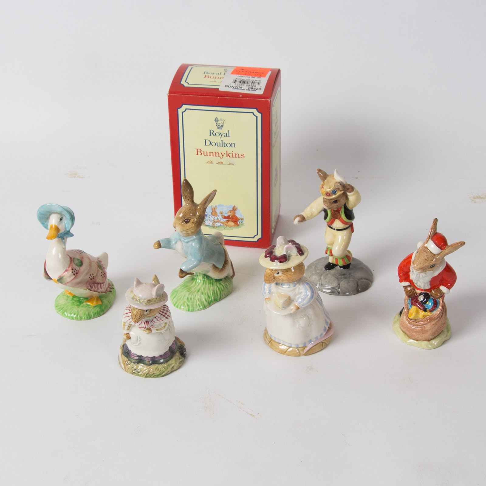 Royal Doulton Porcelain Storybook Animal Figurines Collection