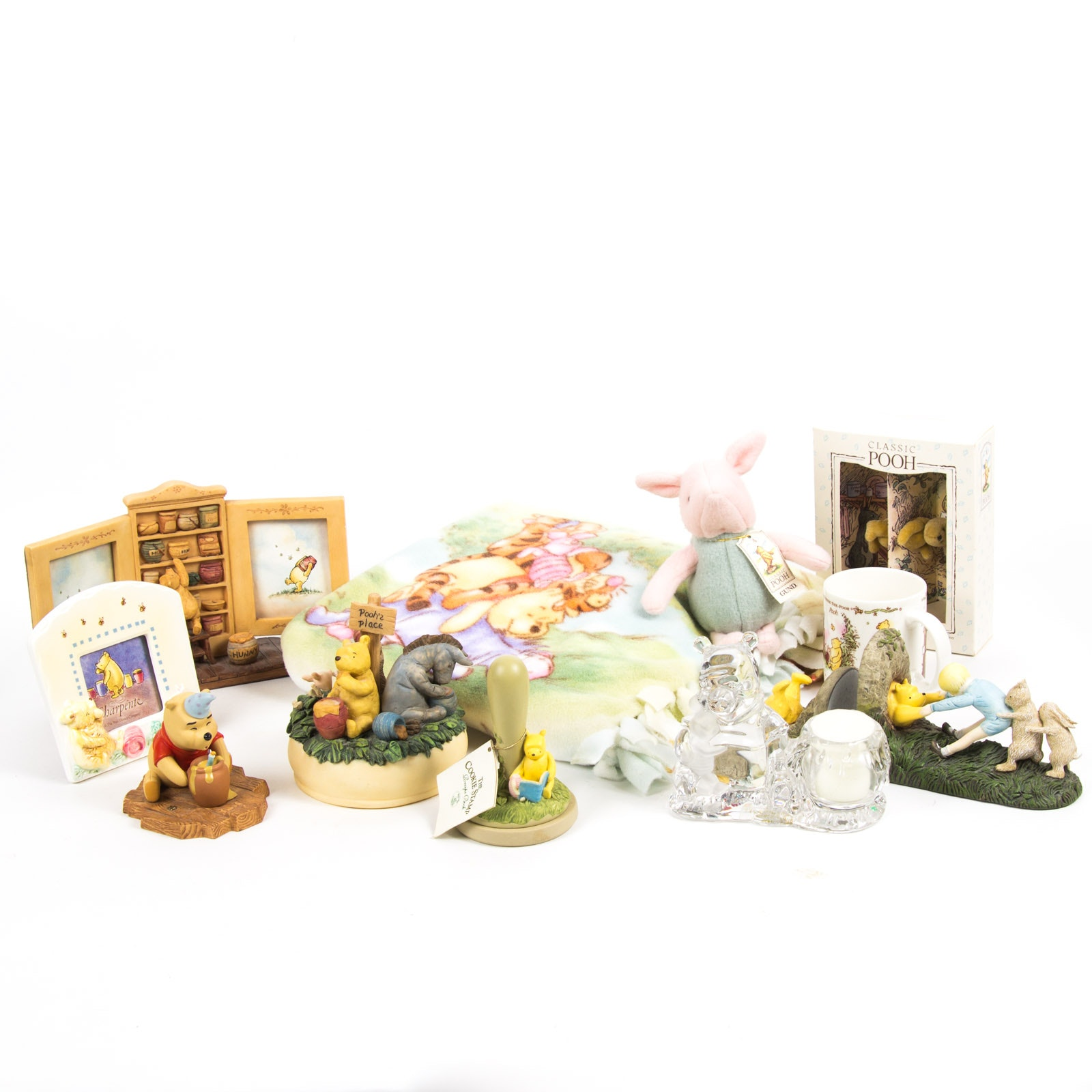 Winnie The Pooh Whimsical Decor Collection