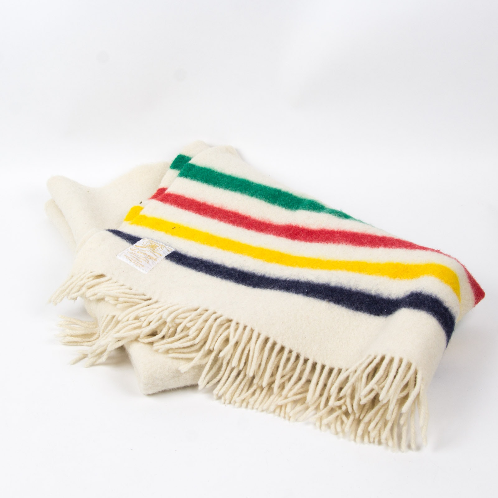 Wool Throw Blanket By Hudson Bay Company