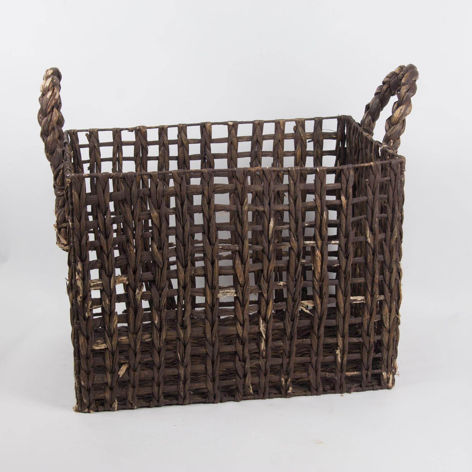 Vintage Large Woven Basket