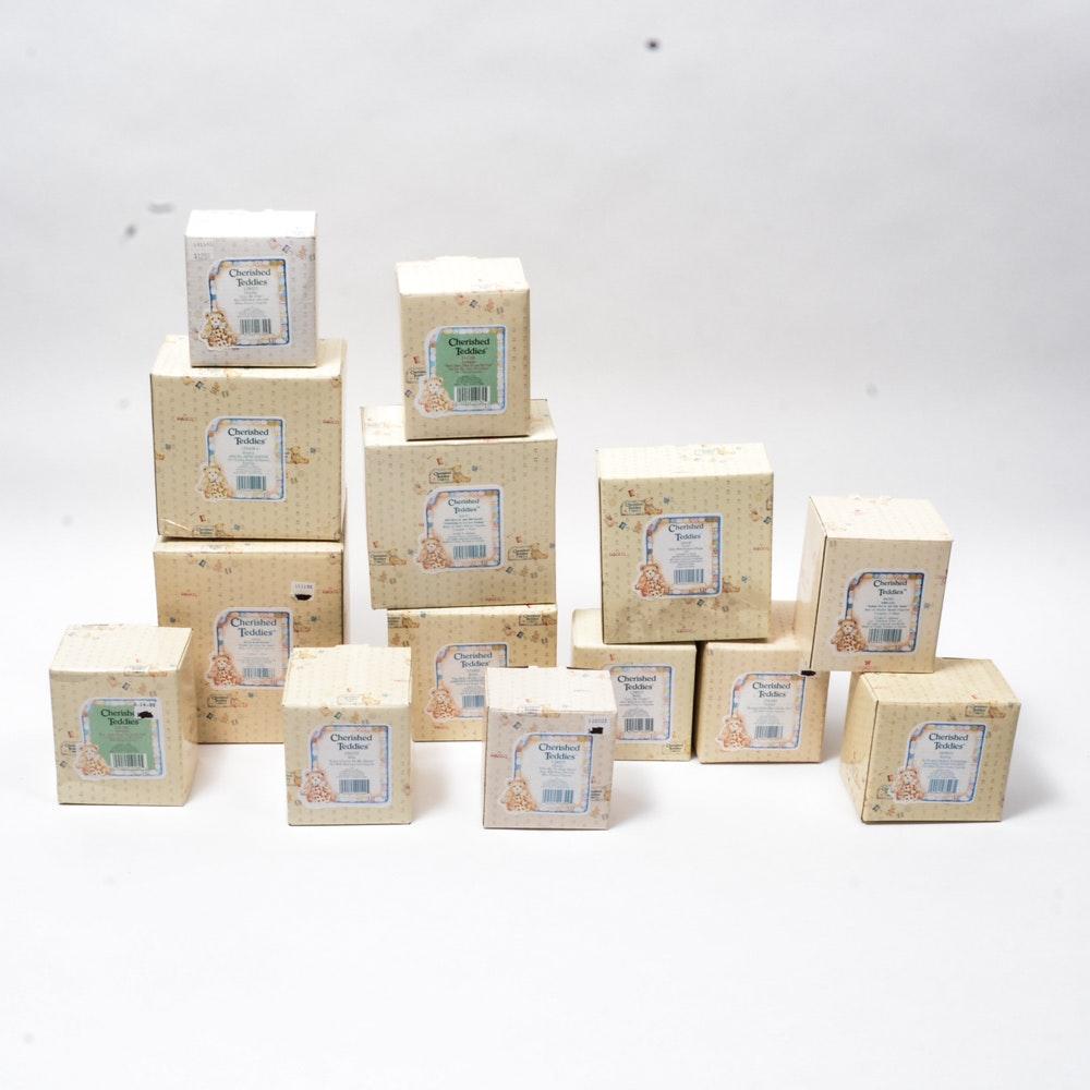 14 ENESCO Cherished Teddies Collectable Figurines By Pricilla Hillman