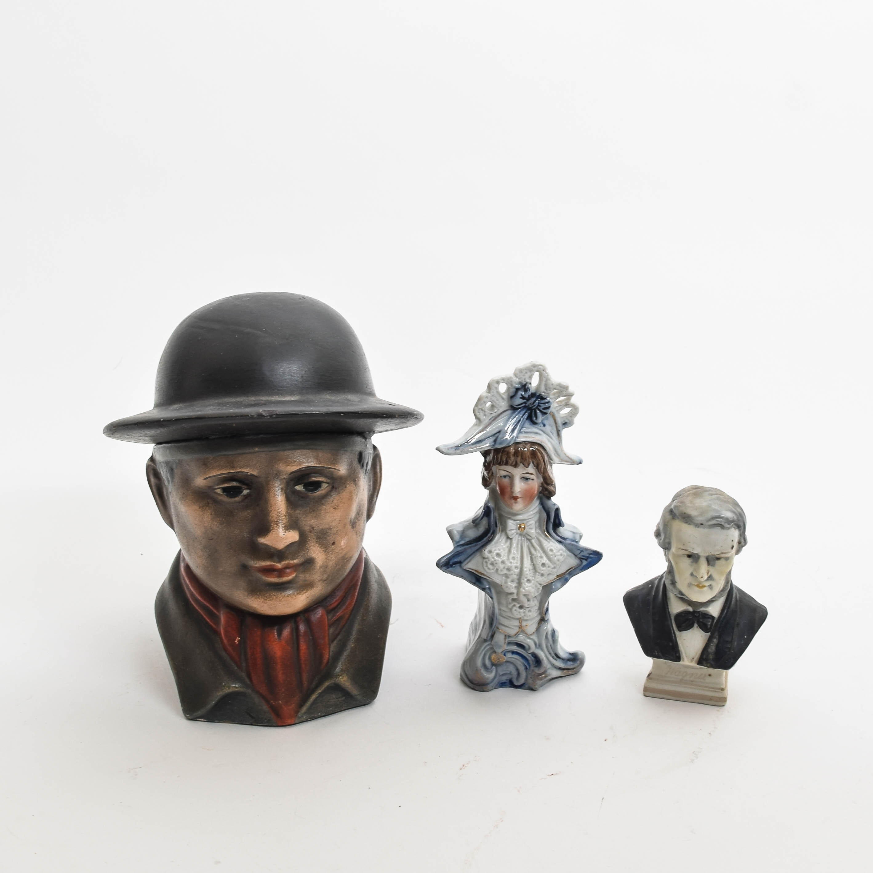 Collection of Vintage Miniature Busts