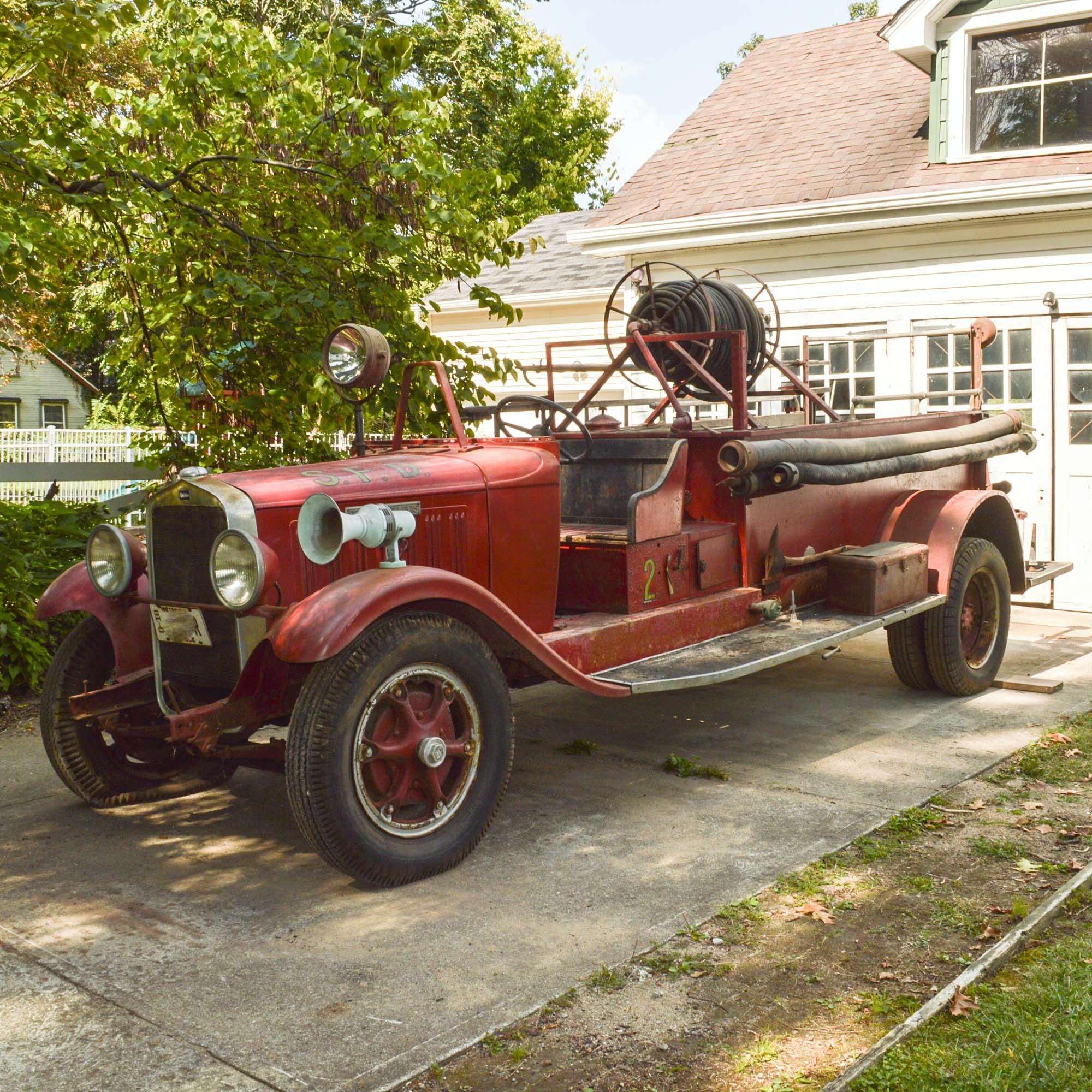 1929 Studebaker Fire Engine
