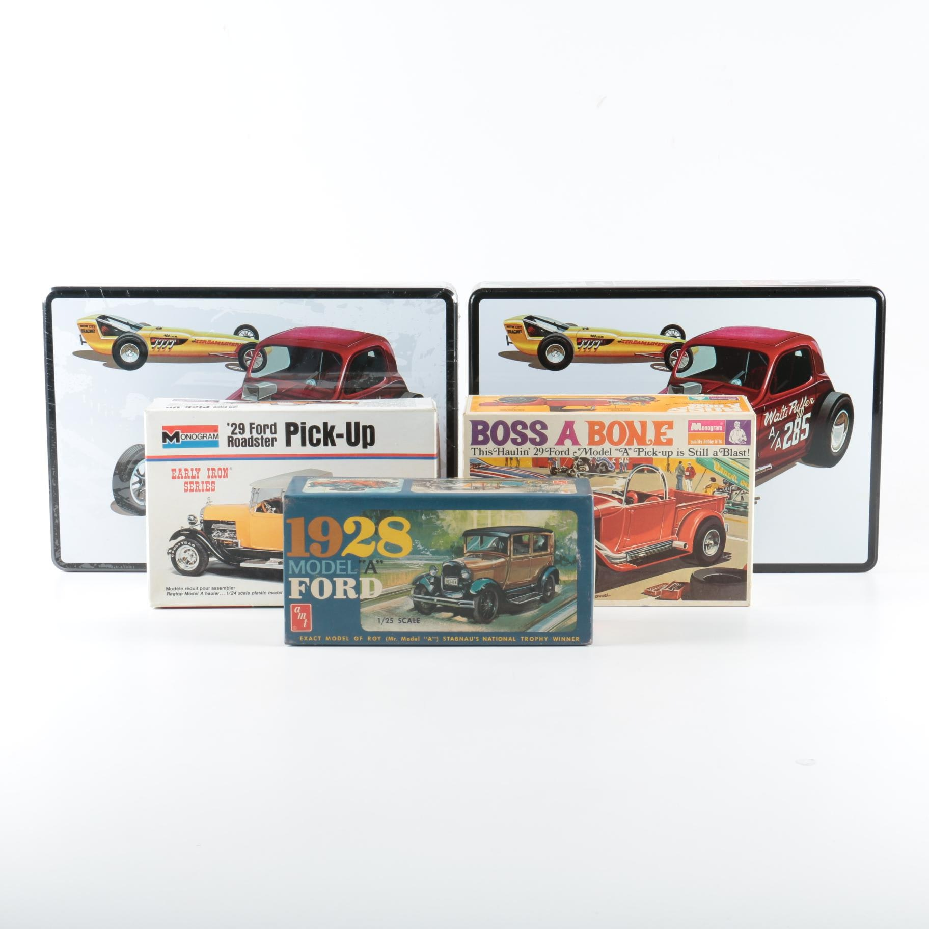 Vintage Roadster Model Car Kits