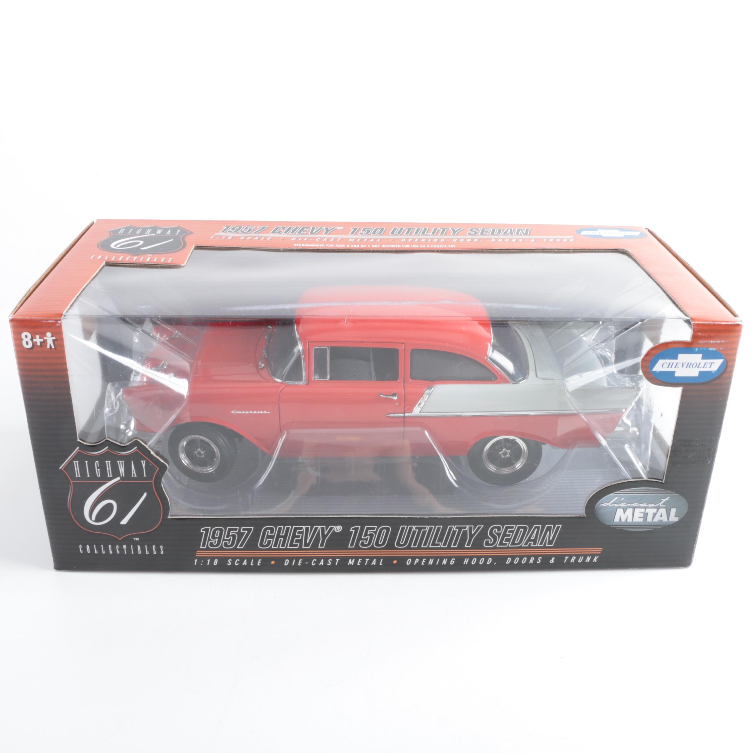 Highway 61 Die-Cast 1957 Chevy 150 Utility Sedan