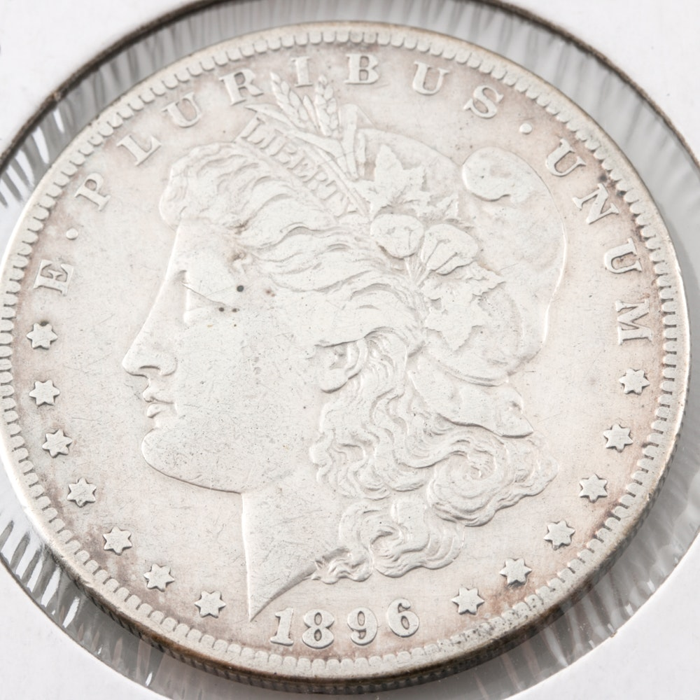 1896-S Silver Morgan Dollar