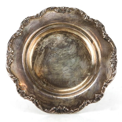 Antique Silver Sterling Gorham Plate