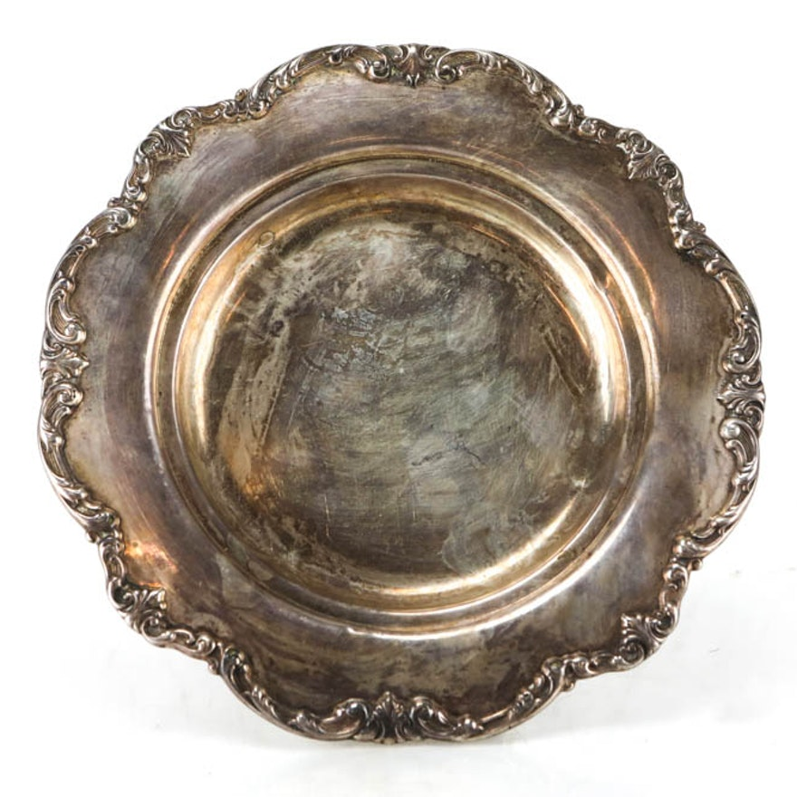 Antique Silver Sterling Gorham Plate