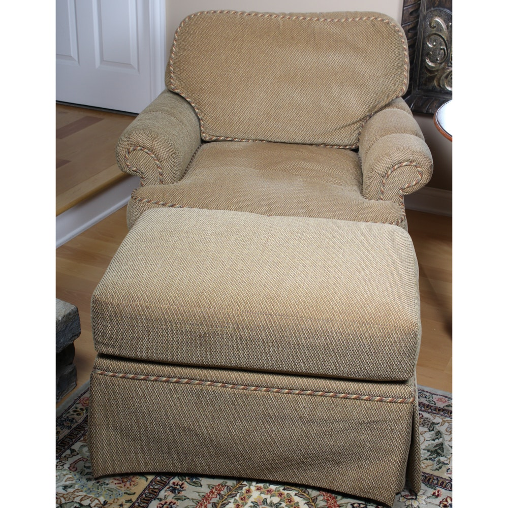 Taylor King Lounge Chair with Ottoman