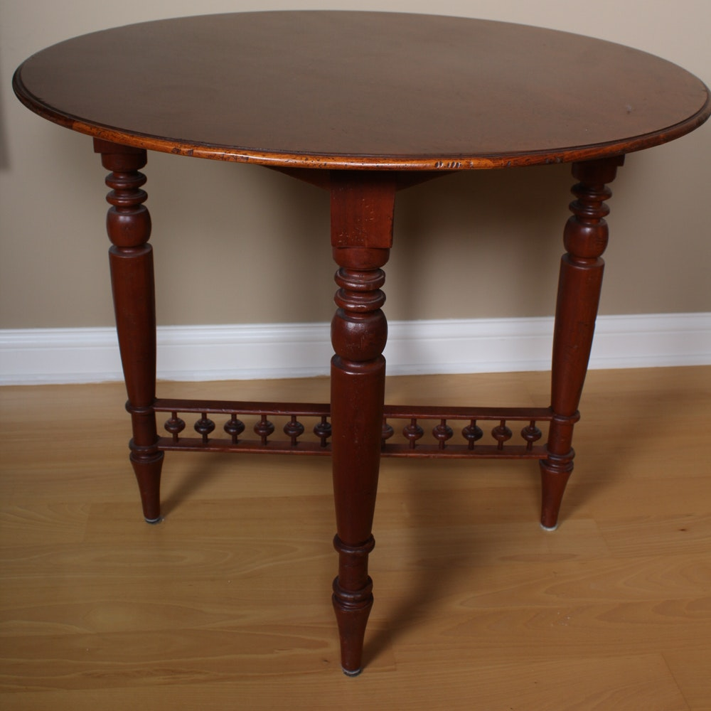 "Milling Road ""West Indies"" Mahogany Occasional Table by Baker Furniture"