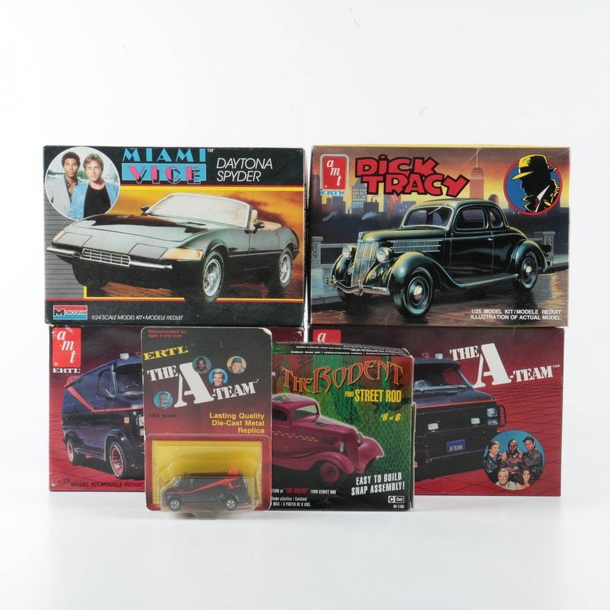Vintage Model Auctions | Vintage Model Kits for Sale in Toys ...