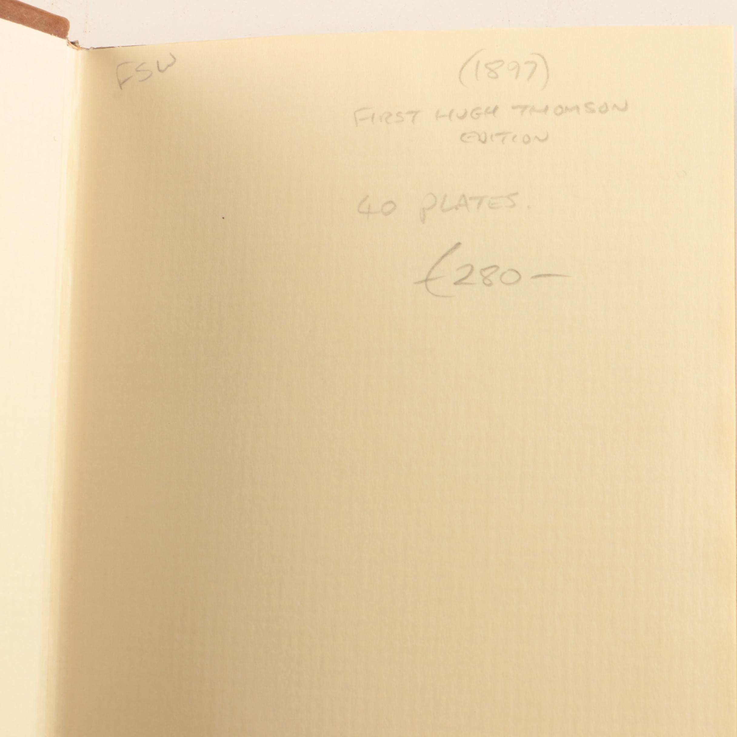 Books Including 1897 Jane Austen with Hugh Thomson