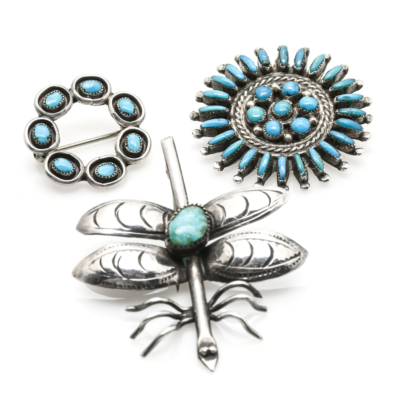 Southwestern style sterling silver turquoise jewelry for Southwestern silver turquoise jewelry