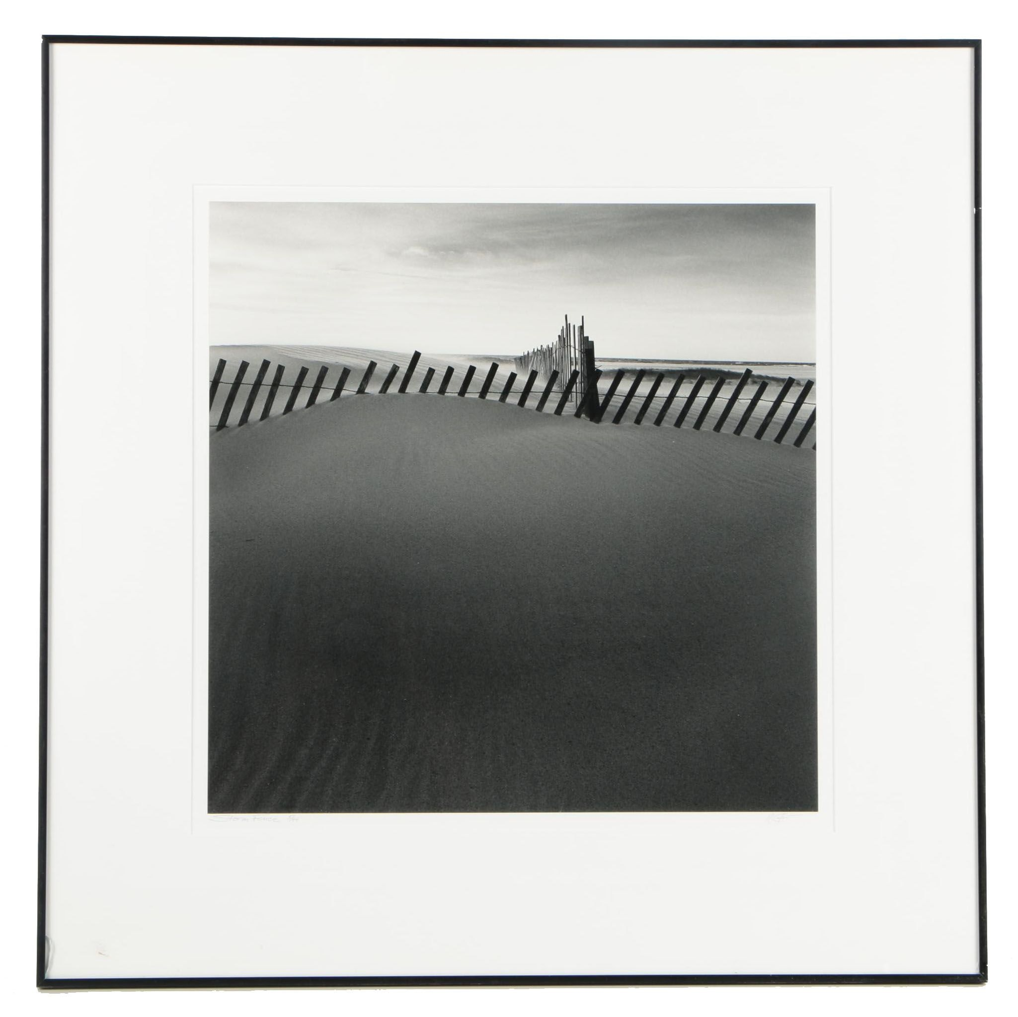 """Limited Edition Photograph """"Storm Fence"""""""