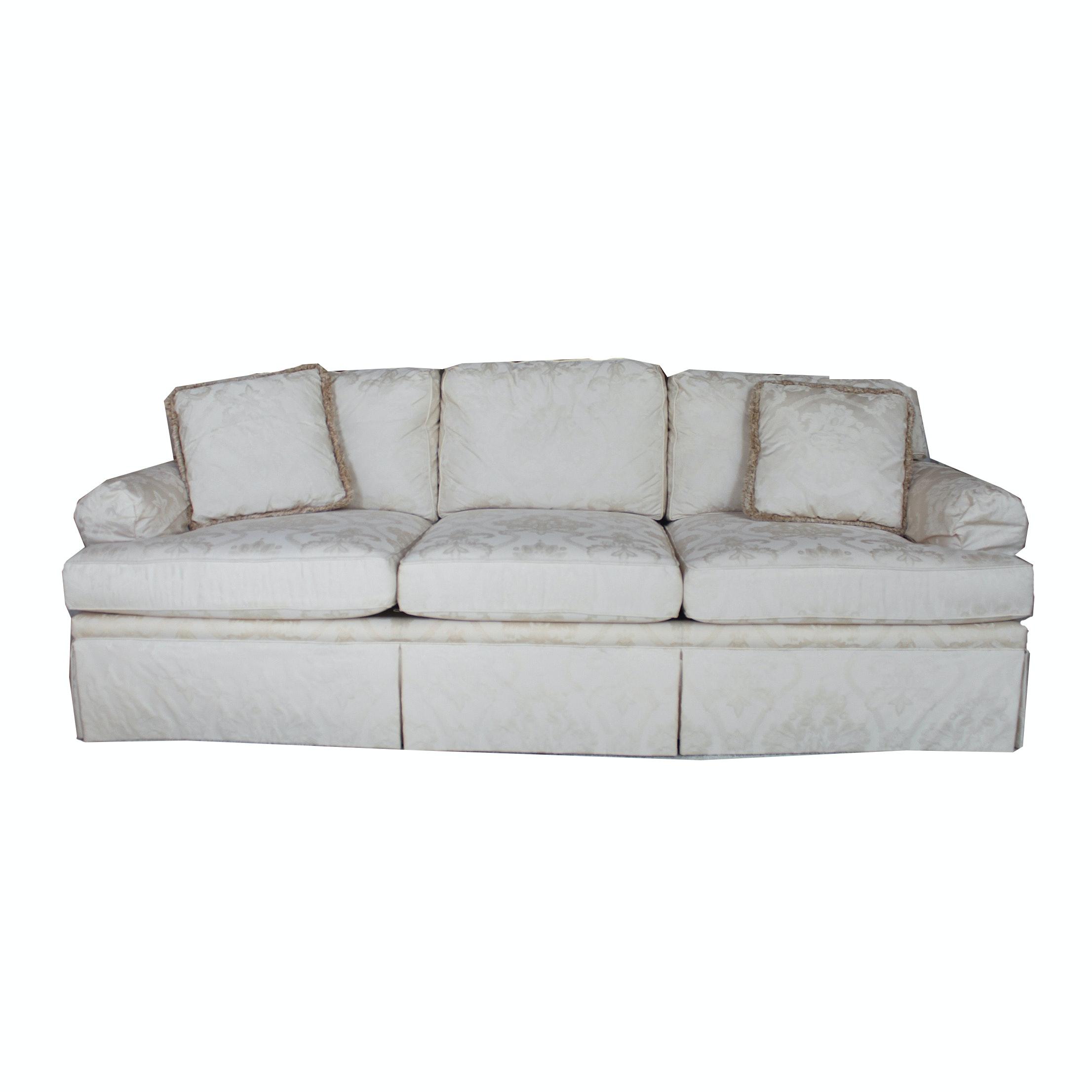 Henredon Damask Sofa