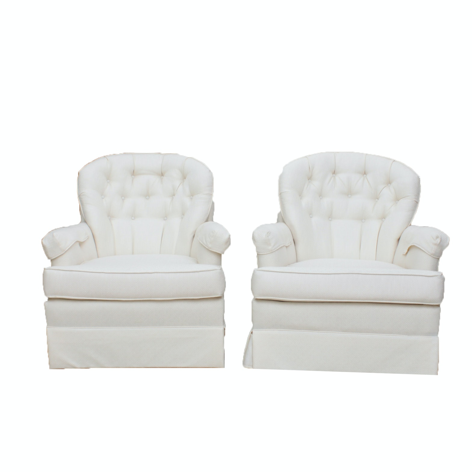 Two Vintage Armchairs by Madden Furniture