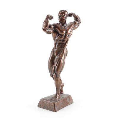 Male Body Building Award Statue