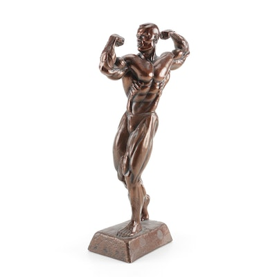 Male Body Building Award Statue