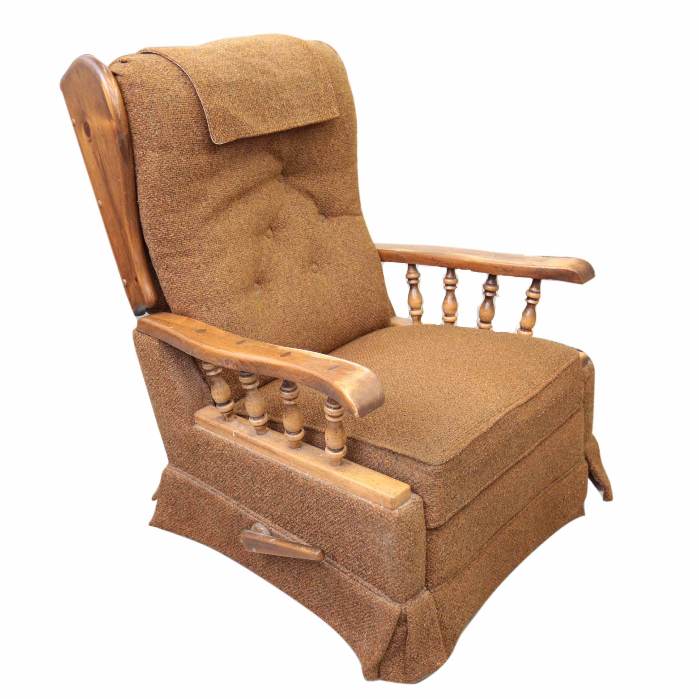 Vintage Recliner Armchair