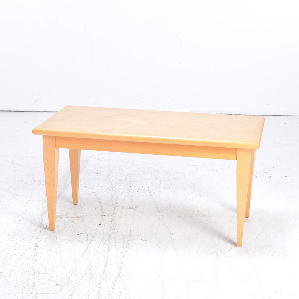 Maple Parsons Style Coffee Table