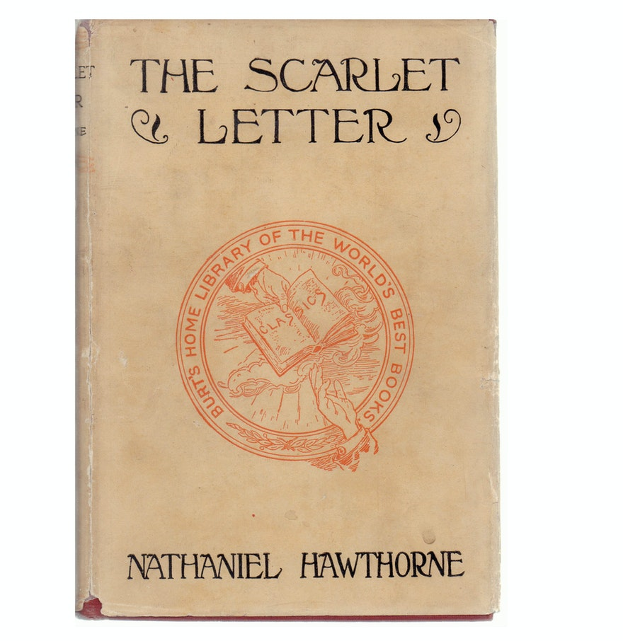 Circa 1920 the scarlet letter by nathaniel hawthorne ebth circa 1920 the scarlet letter by nathaniel hawthorne madrichimfo Images