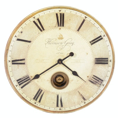 Antique Junghans Quot Diana Quot Mystery Swinger Clock With Ball