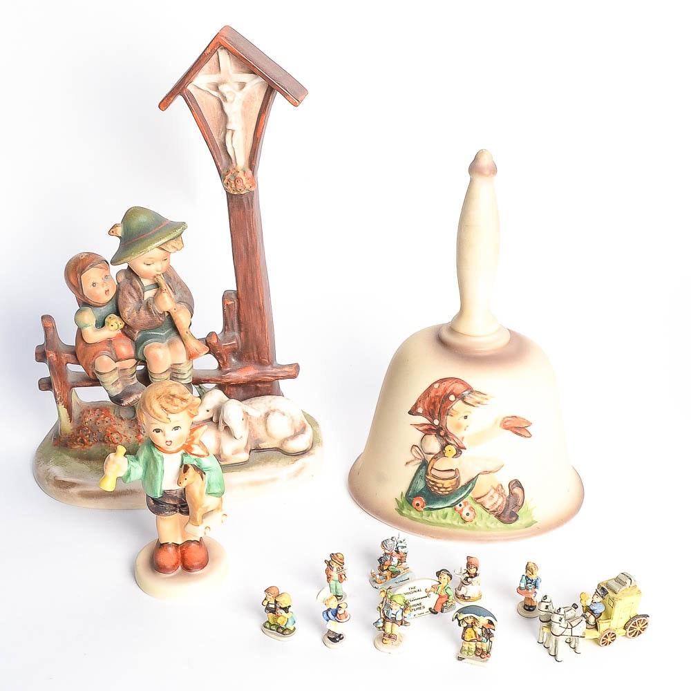 Assortment of Goebel Figurines
